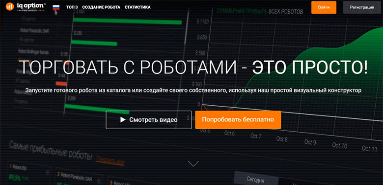 Робот для опционов IQ Option