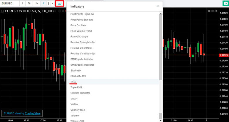 TRIX Jurnal MT5 Indicator | posterland.ro