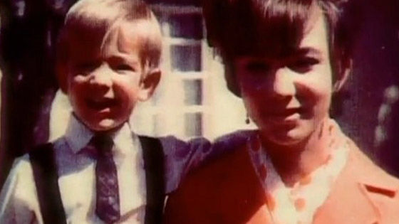 little jeff bezos with mom