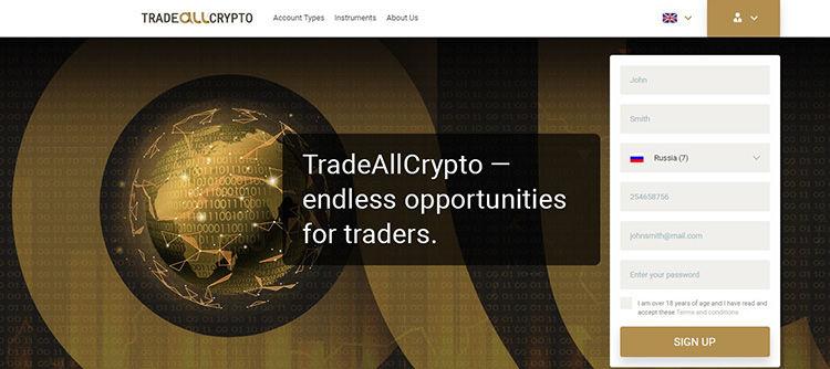 TradeAllCrypto pregled