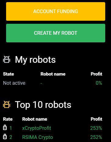 financiación de centobot