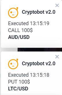 centobot en efectivo