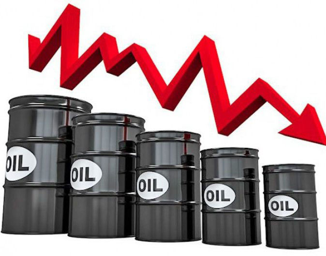 oil price falls