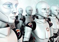 robot comercial automático