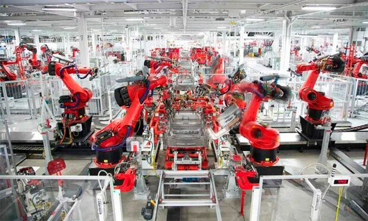 Tesla-Modell 6