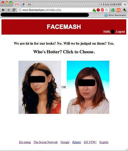 historia facebook facemash xnumx