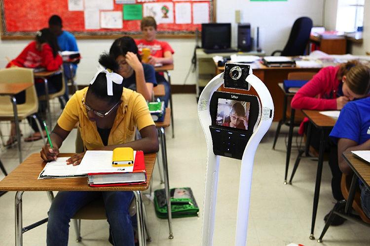 VGo Robot - Studenti remoti