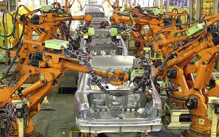 robot di produzione
