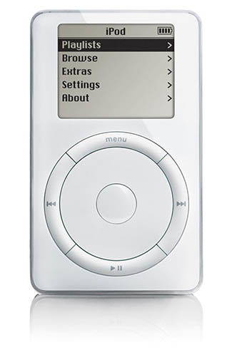 Lecteur audio Apple i-Pod Classic 1G
