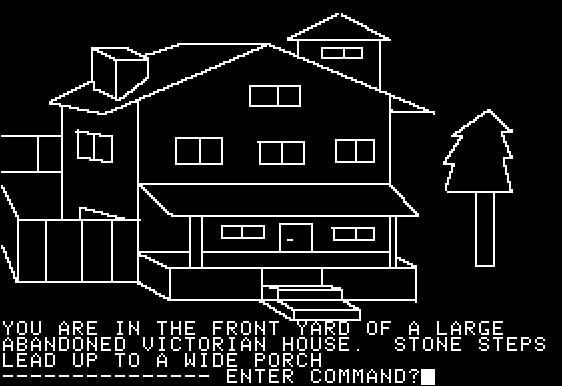 One of the first graphics games for the apple 2 computer