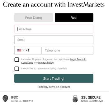 registro investmarkets