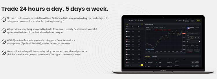 plataforma de mercados cuánticos