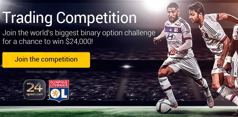 binary options brokers competitions