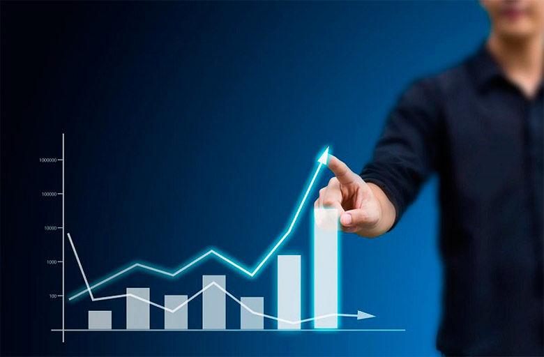 ganancias de inversión en Internet