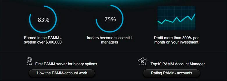 Pamm accounts with binary options mobile sbg global betting