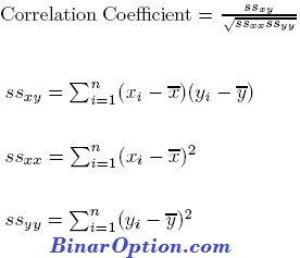 formule de corrélation