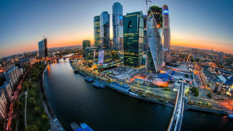 Arbeit in Moskau