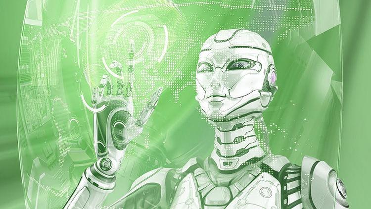Roboter für den Austausch von Kryptowährungen