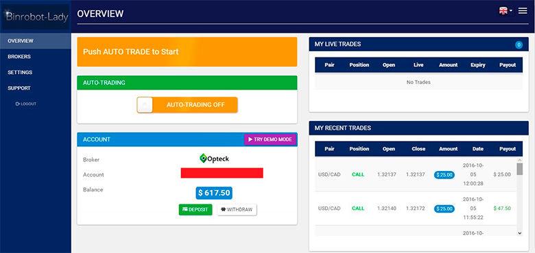 T binary options trading system striker99